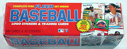 1988 Fleer Baseball Factory Christmas Store Model Set (660) Martinez Glavine - Rcs Cards Stores
