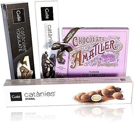 PACK CHOCOLATES CUDIÉ & AMATLLER (x4): Amazon.es: Alimentación y bebidas