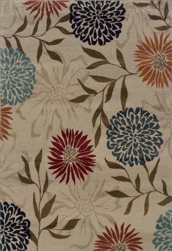 Oriental Weavers Adrienne 4142A Area Rug, 5'3 x 7'6