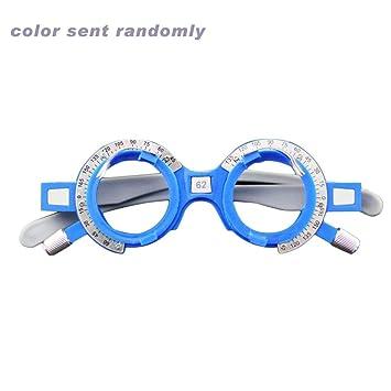 4e4e0461e77dda Sanzhileg Cadre réglable Optique de lentille d essai 52-70mm PD Optométrie  oculaire Opticien