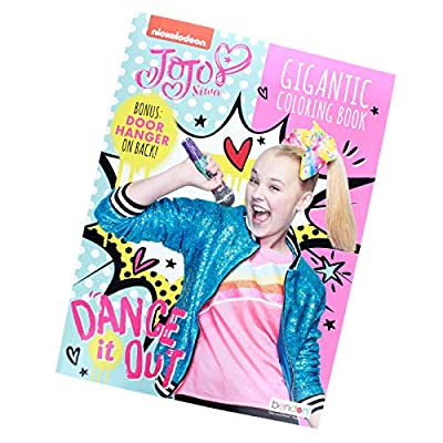 JoJo Siwa Kids Coloring Set Book Stamp Pen 2pc: Toys & Games