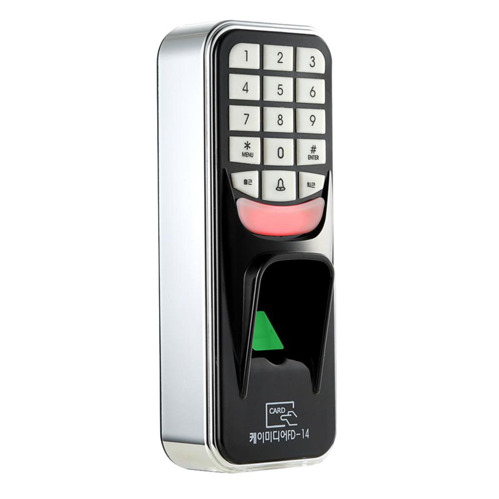 Jili Online Fingerprint Electric Door Access Password RFID Reader with Biometric Scanner, Support 500 capacity, for Office Lab