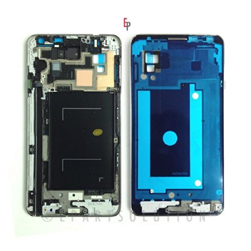 ePartSolution-Samsung Galaxy Note 3 N900V CDMA Ver. Middle Mid Faceplate Frame Cover Chassis Housing Case Replacement Part USA Seller
