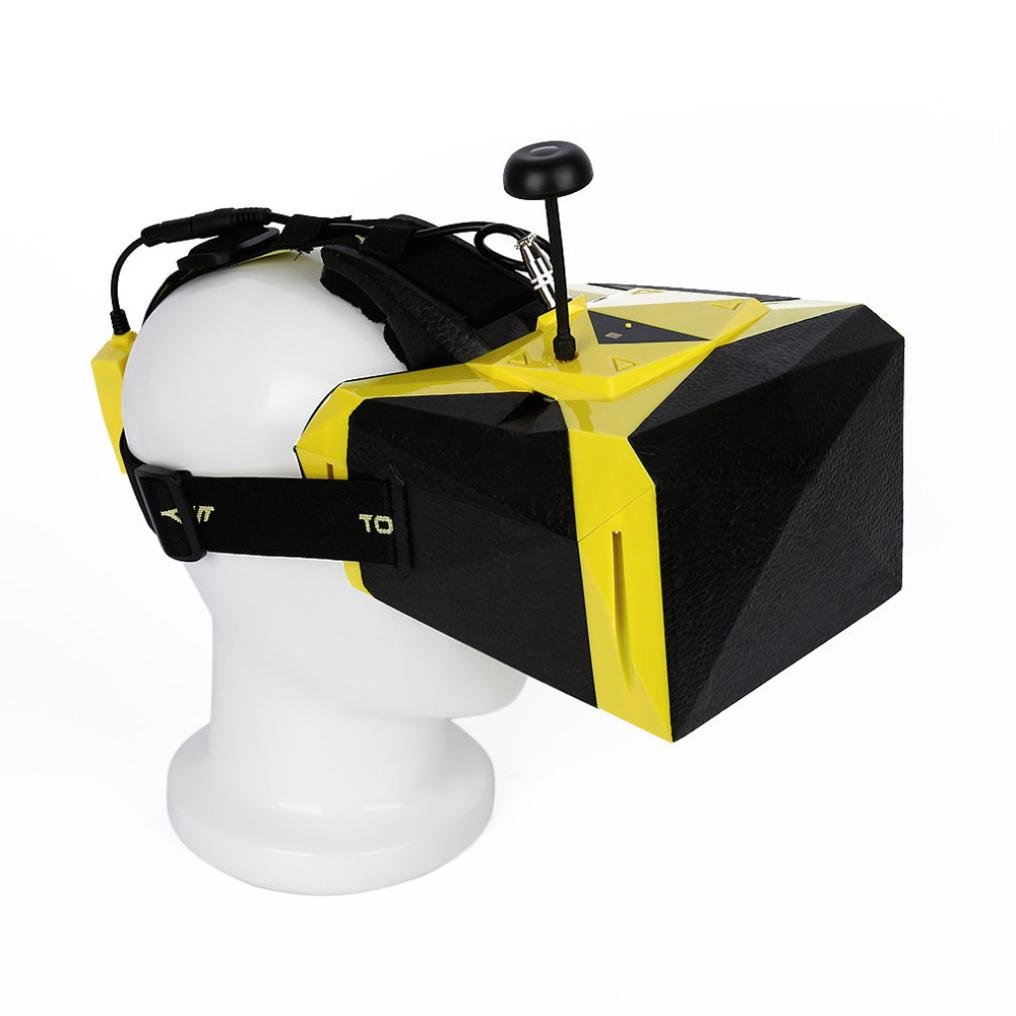 Tiean TOVSTO VIVID Video Glasses HD 1080P FPV Display 32CH 5.8GHz Receiver Goggles by Tiean
