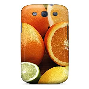 High Quality Shock Absorbing Case For Galaxy S3-citrus Fruits