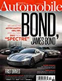 Automobile December 2015 Bond, James Bond Aston Martin DB10