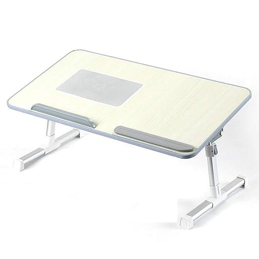 Soporte de mesa plegable portátil Escritorio La cama perezosa ...
