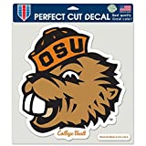 WinCraft Oregon State Beavers Official NCAA 8 inch x 8 inch Die Cut Car Decal by 310507
