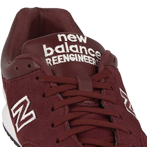 New Balance - Zapatillas de Piel para hombre Rojo rojo Rojo - borgoña