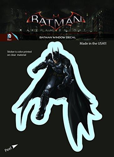 DC Comics Arkham Knight Batman Car Window Sticker Decal by Elephant Gun at Gotham City Store