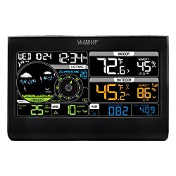 La Crosse Technology 328-2314 Color Professional Weather Station with Lightning Indicator & Combo Wind/Rain Sensor