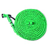 toyofmine Expandable Hose Expanding with Spray Nozzle, No Kinking, Flexible, Lightweight, Super Strong, Shrinking Hose, Flexable Hose, Expands to 3 Times It's Original Length