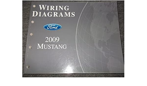 2009 ford mustang gt cobra mach service shop manual set (service manual  set, and the wiring diagrams manual ): ford: amazon com: books