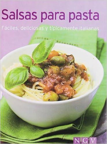 Las mejores salsas para pasta (Minilibros de cocina): Amazon.es: VV.AA.: Libros