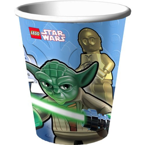 Lego Star Wars Party Cups - Lego Star Wars 9 Oz Paper Cups - 8