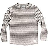 Quiksilver Men's Harajuku Split Shirt, MGH Striped Towel, L