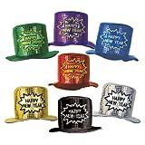 Beistle 1-Pack Glitz N Gleam Happy New Year Top Hats