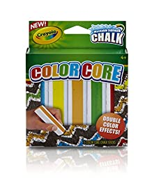 3 PACKS: Crayola Special Effects Sidewalk Chalk - Color Core - Washable (03-5801)
