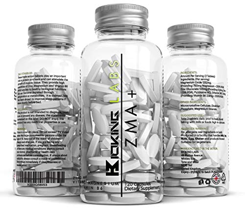 ZMA EXTREME by BioKing Labs | Zinc, Maganesium & Vitamin B6 ZMA Supplement...