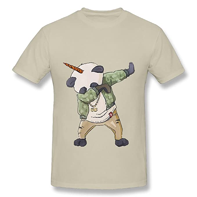 138e256a6 Amazon.com  Summer Cool Men s T-Shirt Unicorn Dabbing Panda Printing ...