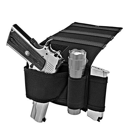 NIANPU Car Seat Pistol Gun Holster,Handgun Holder,Under Bed