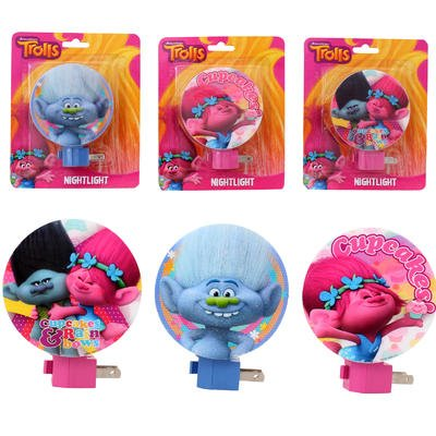 Dreamworks Trolls Night Light - Set of 3