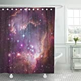 Best Planet Dog Dog Whistles - Emvency Shower Curtain Beautiful Universe Scene Planets Stars Review