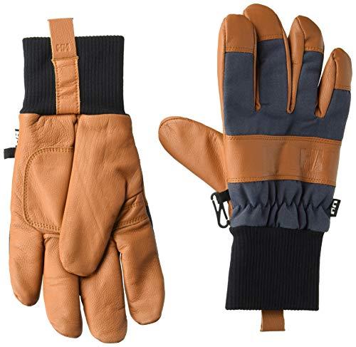 Helly Hansen Men's Dawn Patrol Gloves, Cinnamon/Graphite Blue, Medium