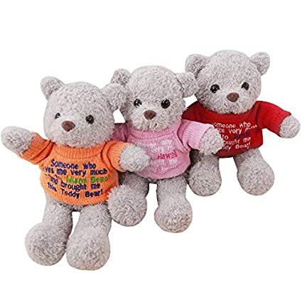 e8dd506c5b23 Groco Teddy Bear&Panda Toys - 1pc 35CM Colorful Teddy Bear with Sweater Plush  Toy Cute Stuffed