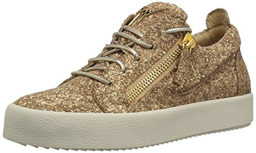 Giuseppe Zanotti Women's RS80001 Sneaker, Sable, 7.5 for sale  Delivered anywhere in USA