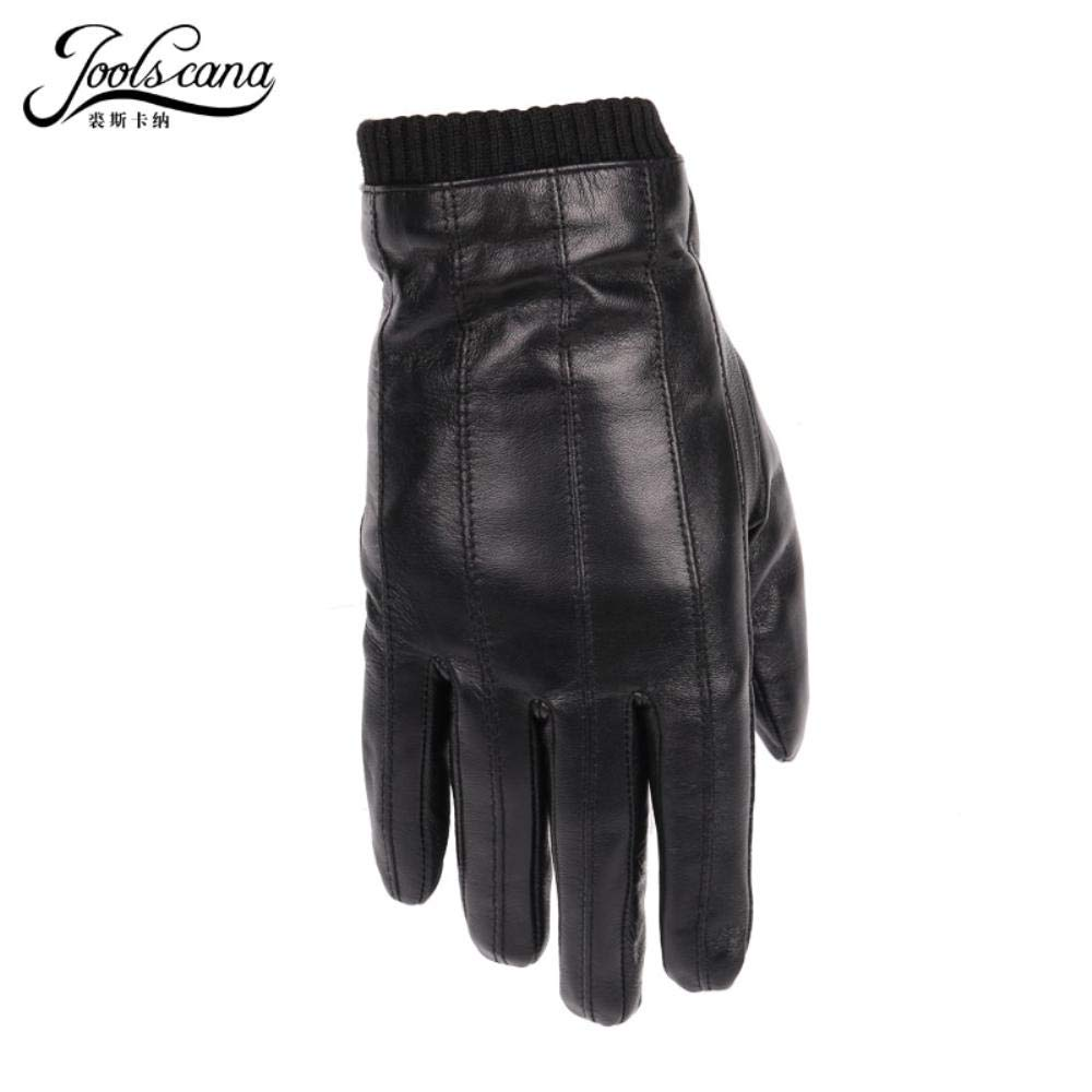 Leather Gloves For Men Winter Fashion Gloves Made Of Italian Imported Sheepskin Can Play Touch Screen Elastic Wrist