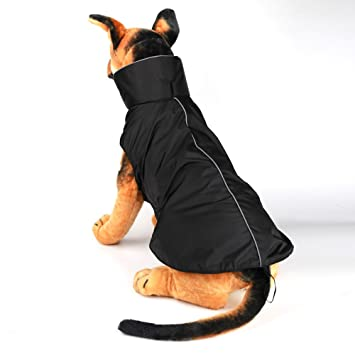 Amazon.com : IN HAND Water Resistent Dog Jacket Cold Weather Soft Lined Dog Vest Climate Changer Dog Clothes Comfortable Sport Dog Coats : Pet Supplies