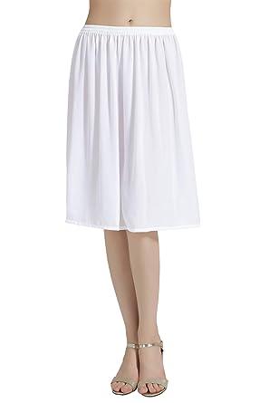 20ac1b15095e0d BEAUTELICATE Femme Jupon Lingerie sous-Jupe Robe Mousseline de Soie ...