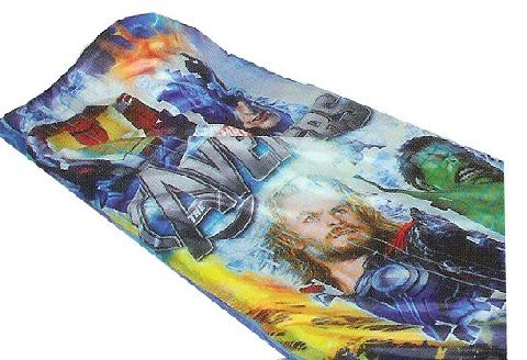 Marvel The Avengers Movie Slumber Bag Sleeping Party Overnight Bedding ()