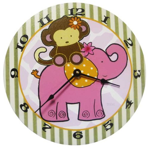 Jungle Clock, Baby & Kids Zone