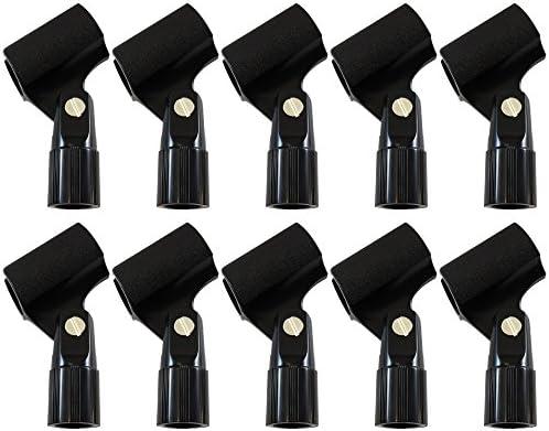 Mic clip microphone clip tough nylon U type standard fitting