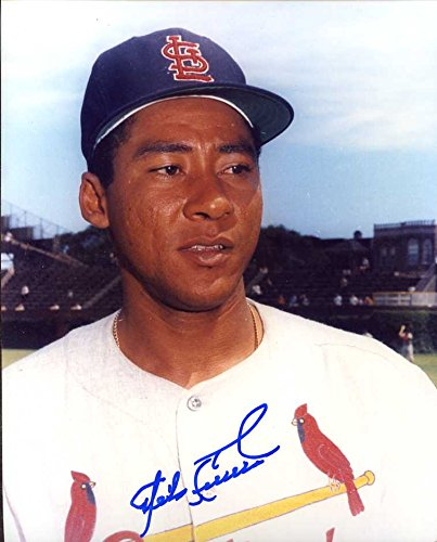 (Mike Cuellar Autographed/ Original Signed 8x10 Photo Showing Him w/ the St. Louis Cardinals in 1964)