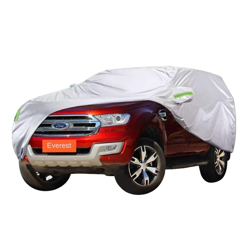 フォードエベレストカースペシャルカーカバーSUV厚いオックスフォード布日焼け防止雨と不凍液暖かい車のカバー (サイズ さいず : 2017) 2017  B07PPLLJJX
