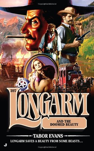 book cover of Longarm and the Doomed Beauty