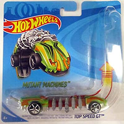 Mutant Machines Top Speed GT - Compatible with Hot Wheels and Made by Hotwheels ~ Unique Slithering Action Car: Toys & Games