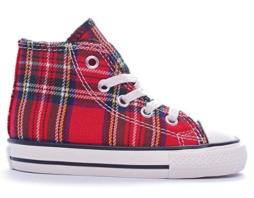 Converse346376C - Chuck Taylor Hi Textile Niños^Niñas
