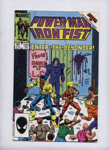 Power Man and Iron Fist #121 (Heroes..., January 1986)