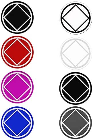 "Recovery Line NA, Narcotics Anonymous, 3"" Stickers,Decals, Pack of 8"
