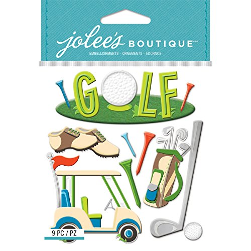 Jolees Boutique Golf - E5021955 JOLLES STICKERS-GOLF