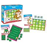Carson-Dellosa CD-140308 Math File Folder Game, Grade 3, 16 Games, 21 Sheets of Cards (Pack of 37)