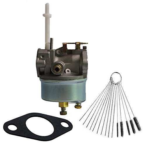 Dosens Carburetor for Tecumseh 632371 632371A fits H70 & HSK70 Snow Thrower Blowers Carb with Gasket & Carbon Dirt Jet Cleaner Tool Kit by Dosens