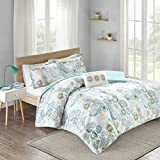 Mi-Zone Tamil Comforter Mini Set, Twin/ Twin X-Large, Blue