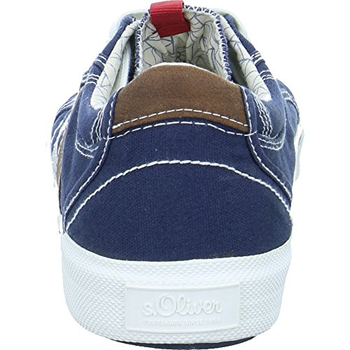 Bleu 13601 Basses Sneakers S Homme navy oliver anfw6XxHA