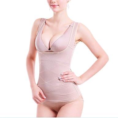 8f6b4a1b76722 Amazon.com: Women Sexy Siamese Corset Postpartum Thin Waist Slimming  Bodysuit Shapewear Underwear Body Shapers Corsets: Clothing