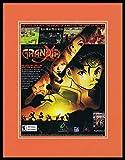 Grandia XTreme 2002 PS2 Framed 11x14 ORIGINAL